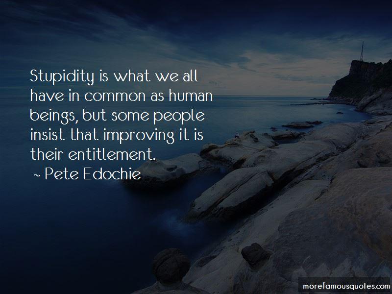 Pete Edochie Quotes