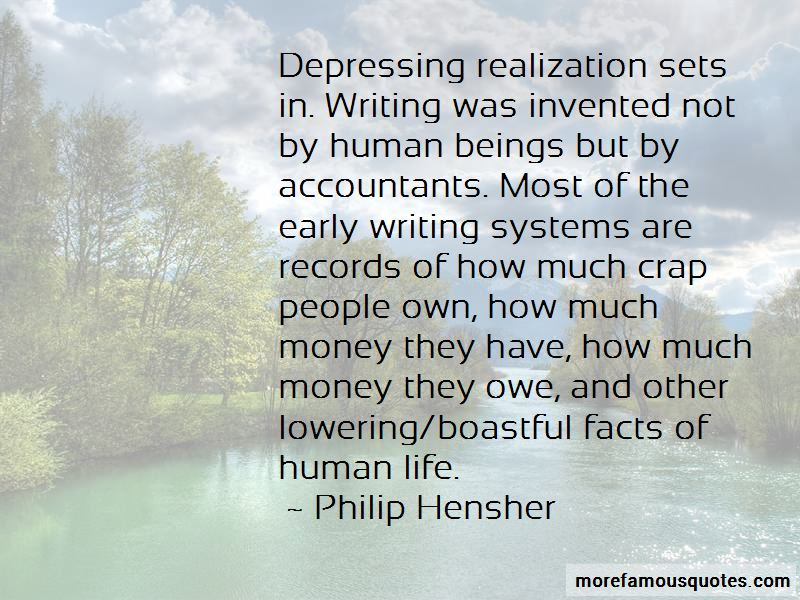 Philip Hensher Quotes Pictures 2