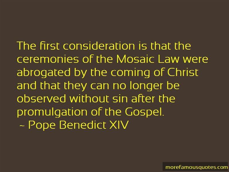 Pope Benedict XIV Quotes Pictures 2