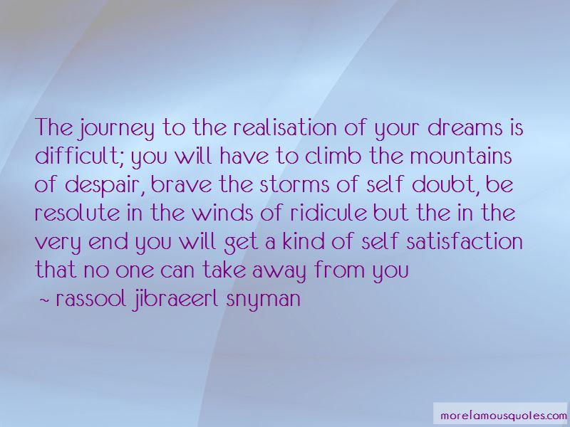Rassool Jibraeerl Snyman Quotes