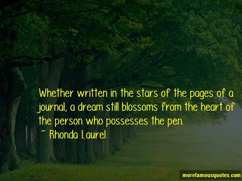 Rhonda Laurel Quotes Pictures 2