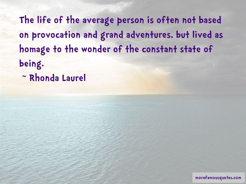 Rhonda Laurel Quotes