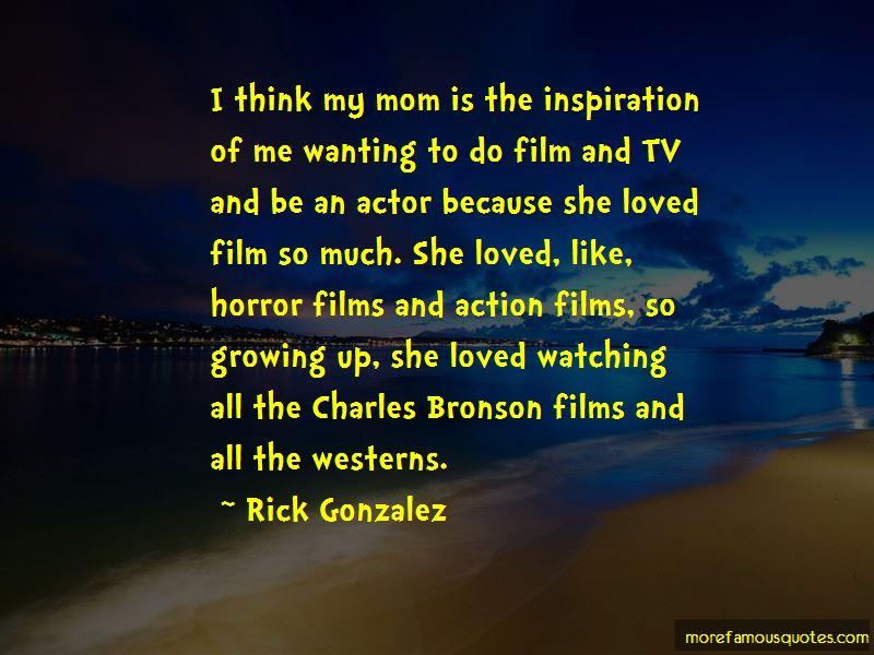 Rick Gonzalez Quotes Pictures 3