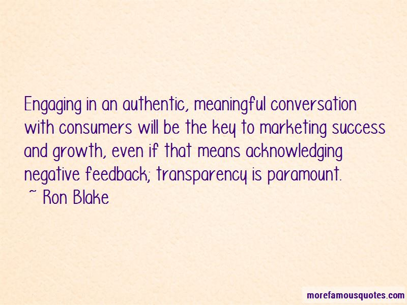 Ron Blake Quotes