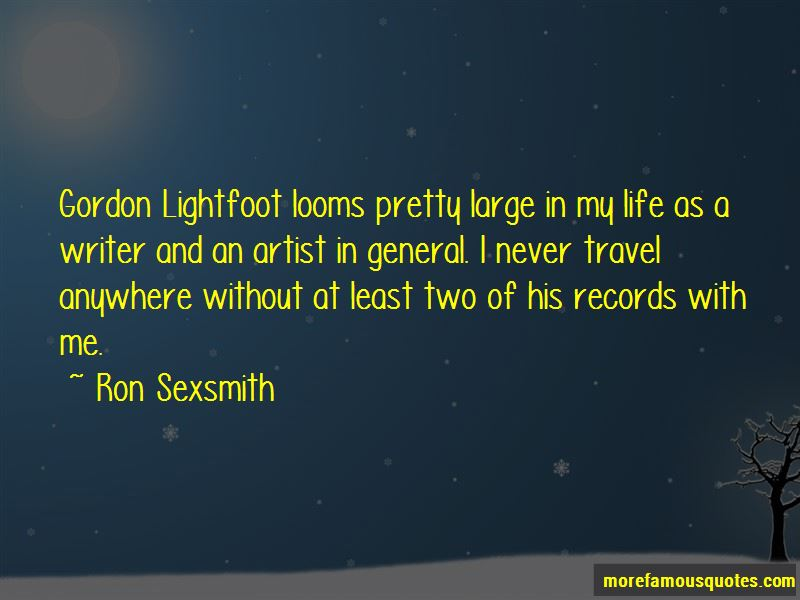 Ron Sexsmith Quotes Pictures 3