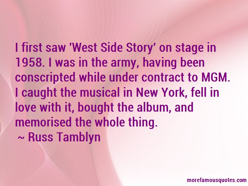 Russ Tamblyn Quotes Pictures 2