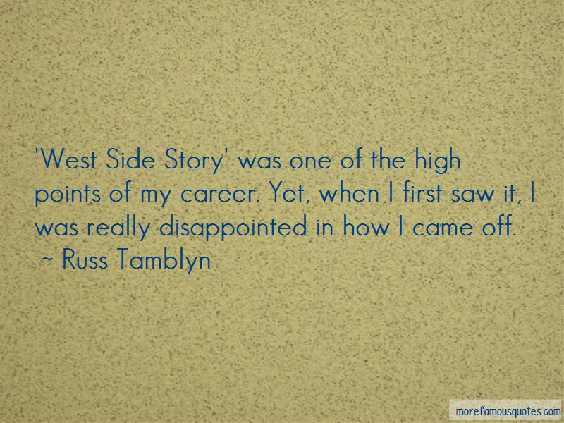 Russ Tamblyn Quotes
