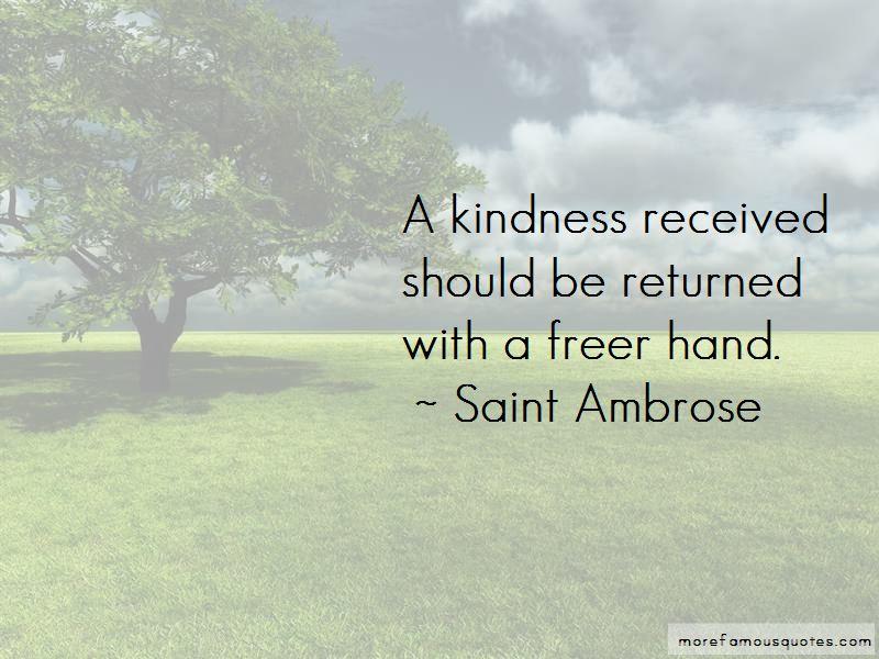 Saint Ambrose Quotes Pictures 2