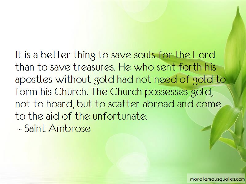 Saint Ambrose Quotes Pictures 3