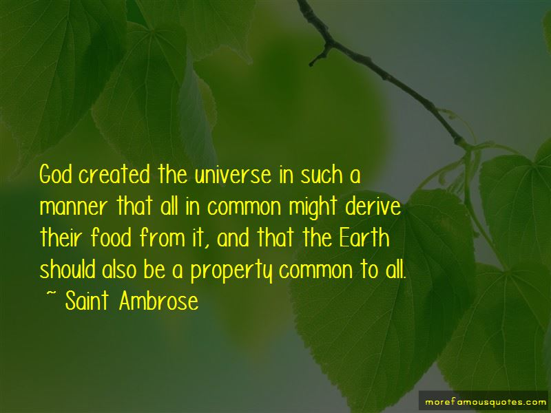 Saint Ambrose Quotes Pictures 4
