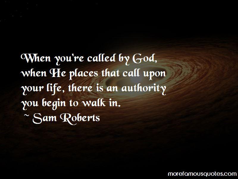 Sam Roberts Quotes