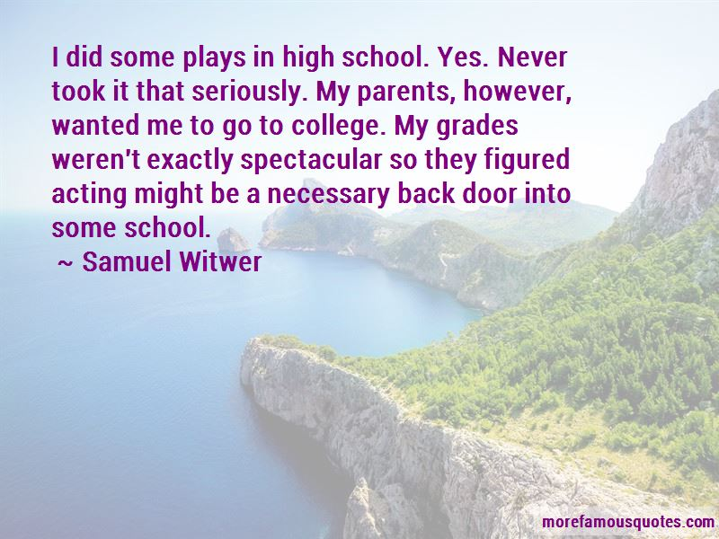 Samuel Witwer Quotes Pictures 2