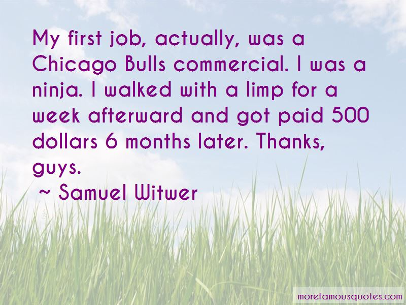 Samuel Witwer Quotes Pictures 4