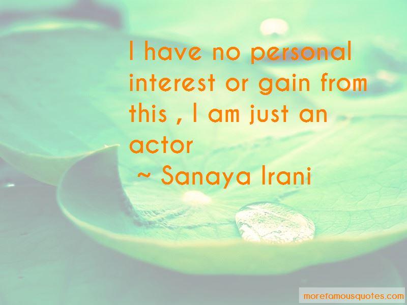 Sanaya Irani Quotes