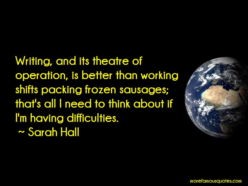 Sarah Hall Quotes Pictures 2