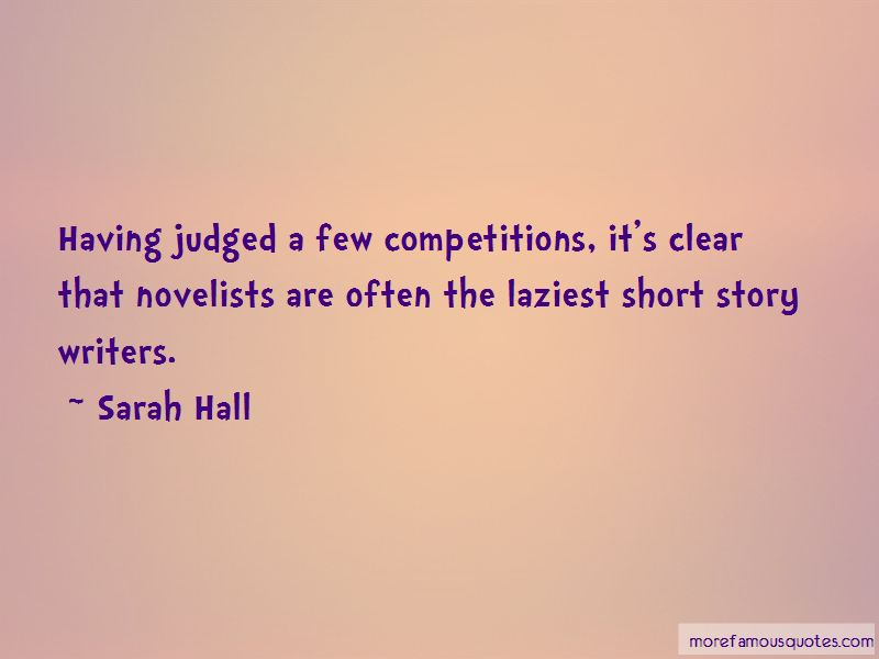 Sarah Hall Quotes Pictures 3