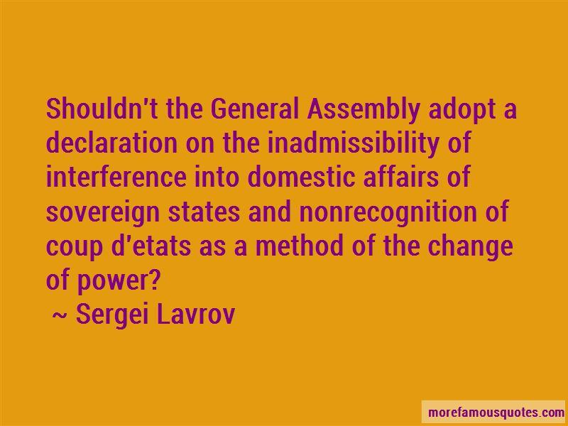 Sergei Lavrov Quotes Pictures 4