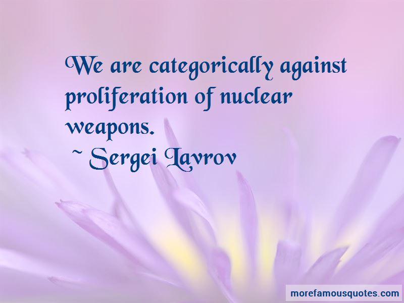 Sergei Lavrov Quotes