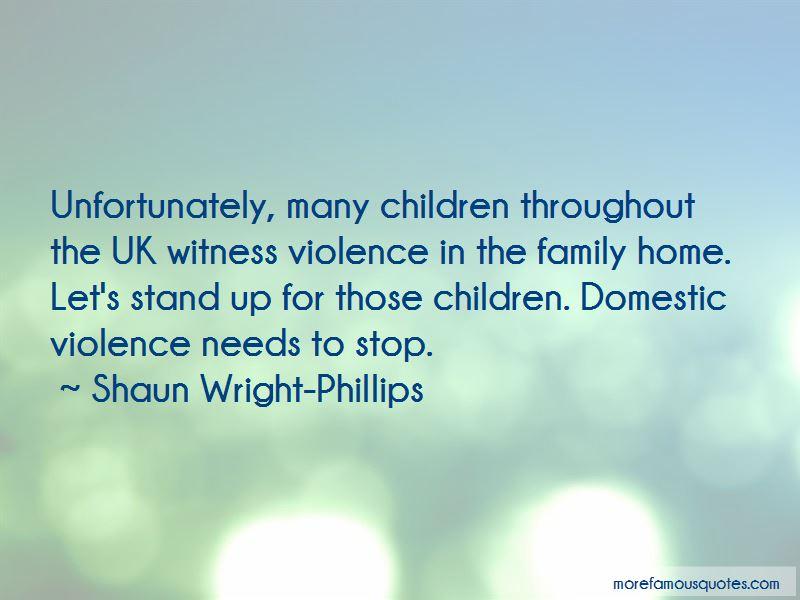 Shaun Wright-Phillips Quotes