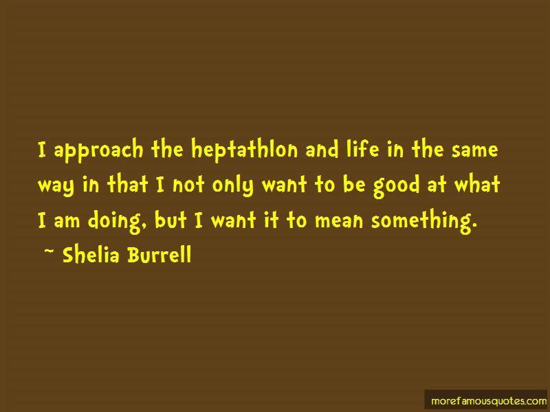 Shelia Burrell Quotes