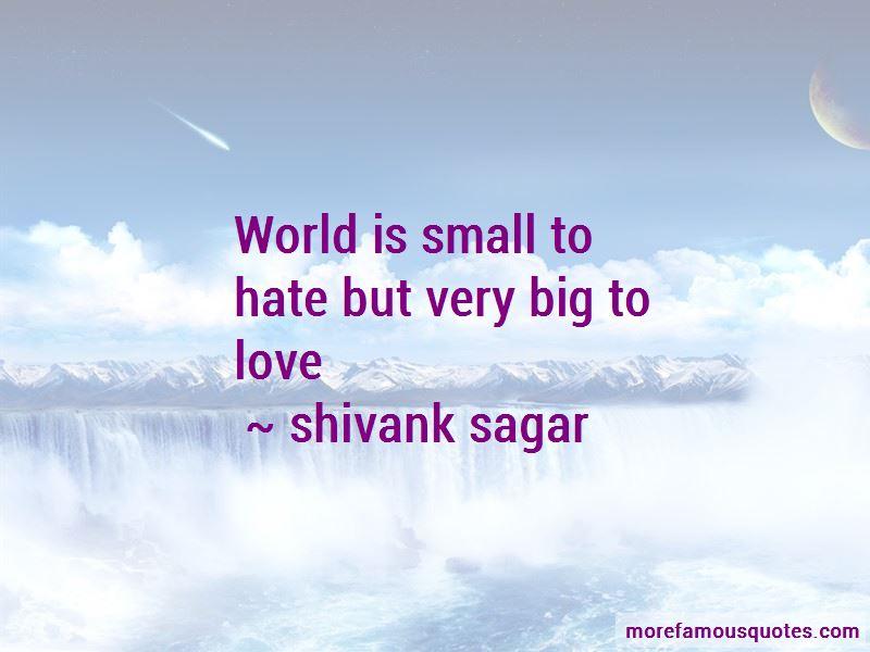 Shivank Sagar Quotes