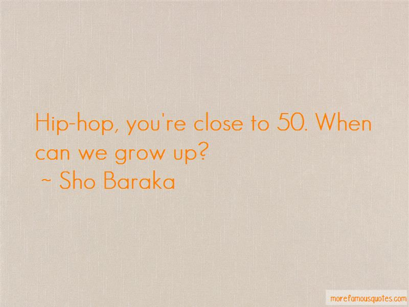 Sho Baraka Quotes Pictures 2