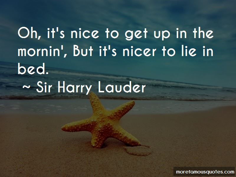 Sir Harry Lauder Quotes