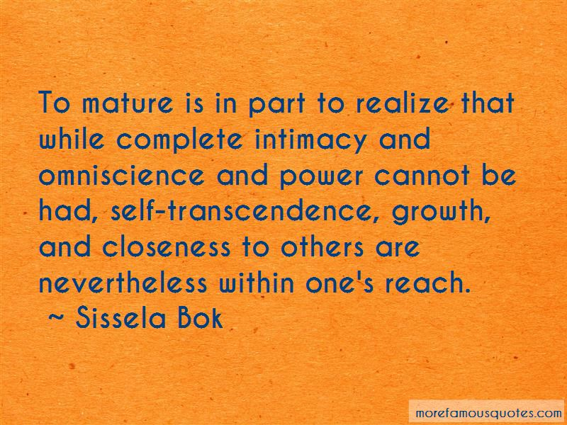 Sissela Bok Quotes Pictures 2