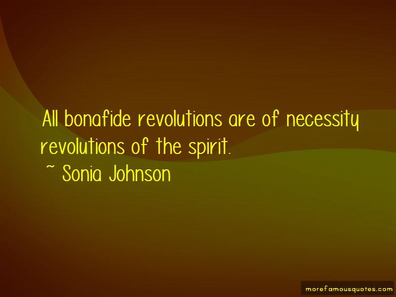 Sonia Johnson Quotes Pictures 2