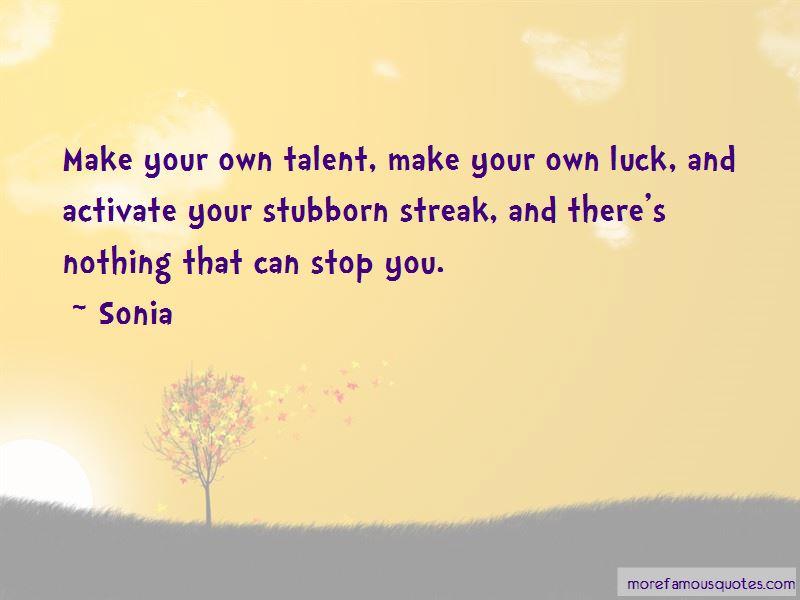 Sonia Quotes Pictures 2