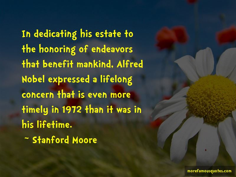 Stanford Moore Quotes Pictures 2