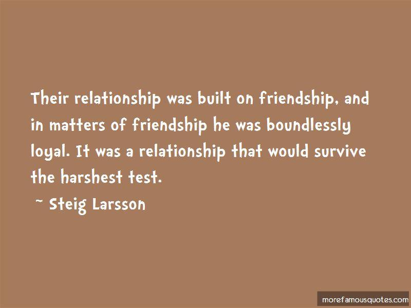 Steig Larsson Quotes