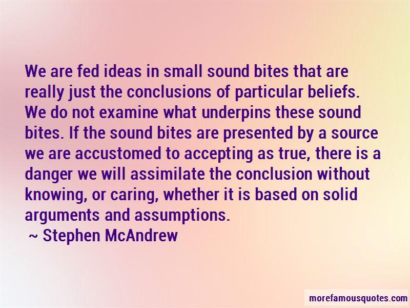 Stephen McAndrew Quotes Pictures 3