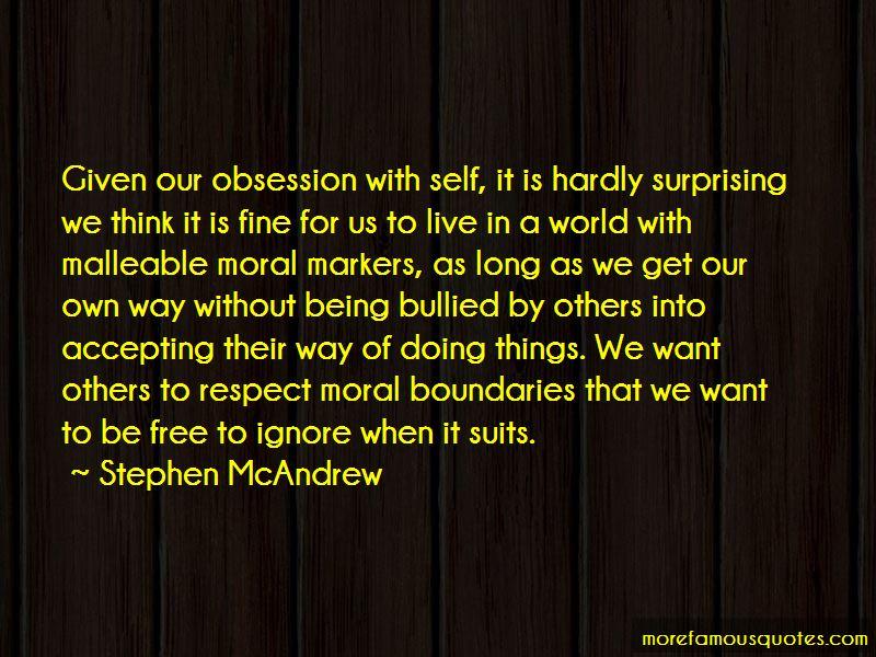 Stephen McAndrew Quotes