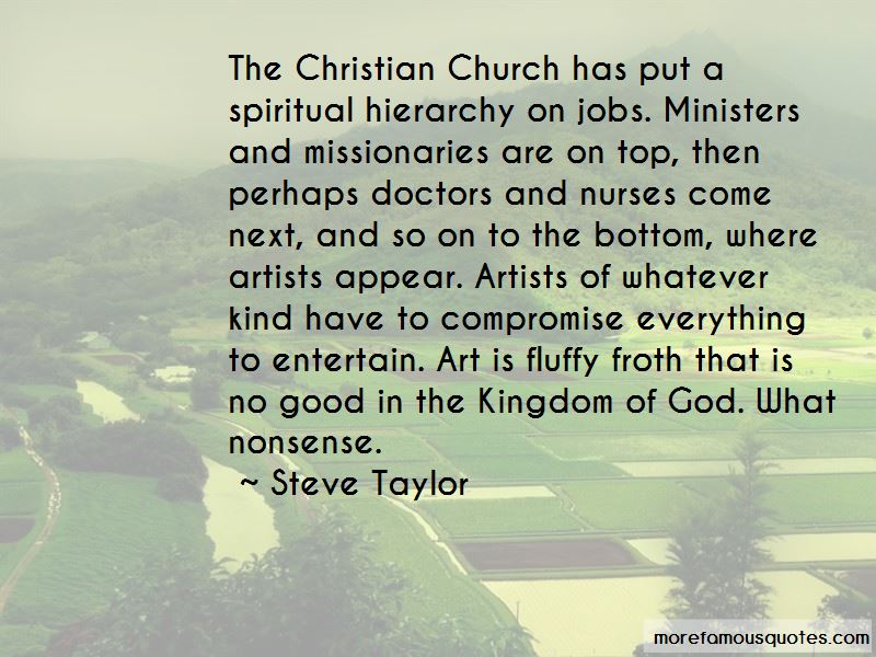 Steve Taylor Quotes