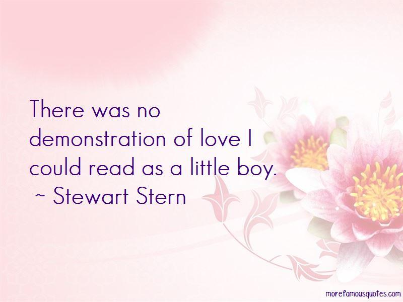 Stewart Stern Quotes
