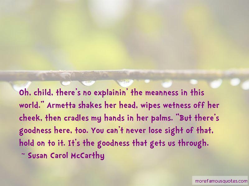 Susan Carol McCarthy Quotes