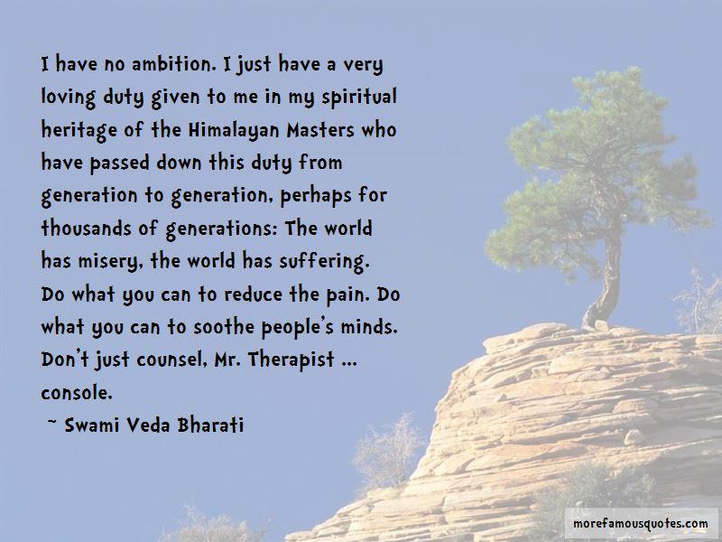 Swami Veda Bharati Quotes