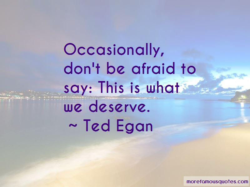 Ted Egan Quotes