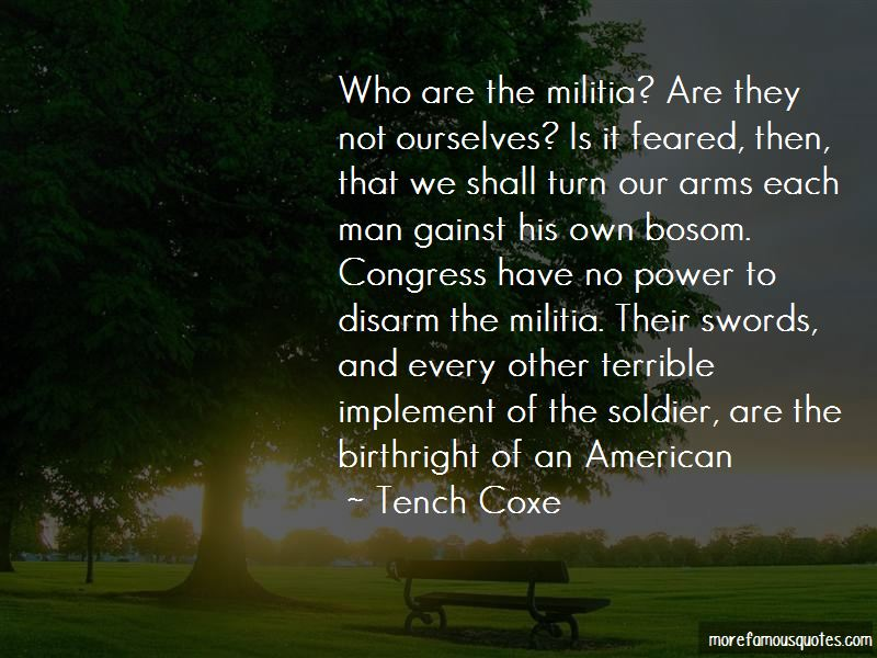Tench Coxe Quotes