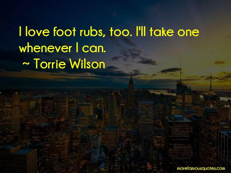 Torrie Wilson Quotes