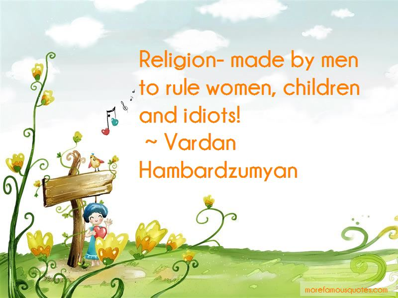 Vardan Hambardzumyan Quotes
