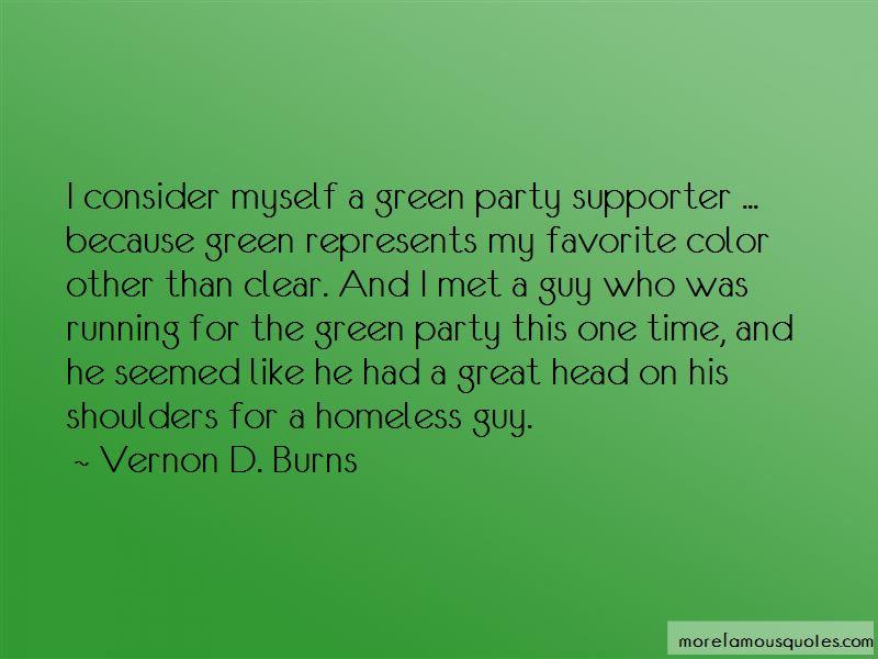 Vernon D. Burns Quotes Pictures 2