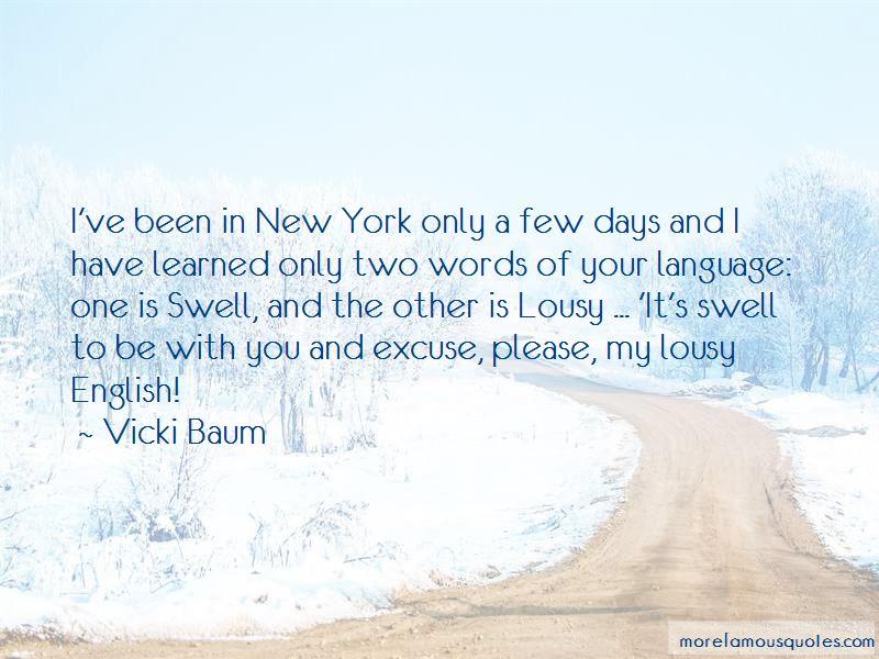 Vicki Baum Quotes Pictures 2