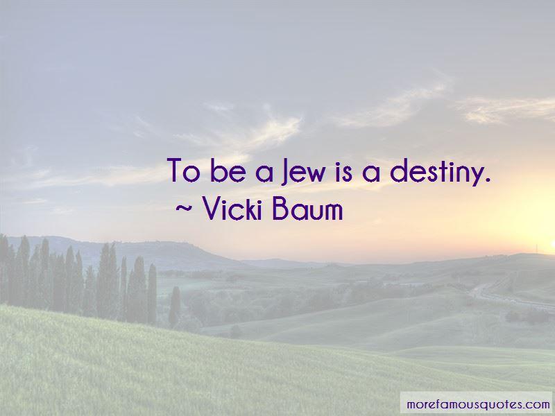 Vicki Baum Quotes