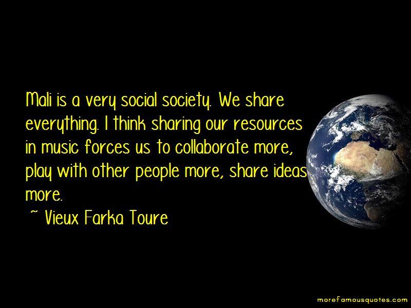 Vieux Farka Toure Quotes