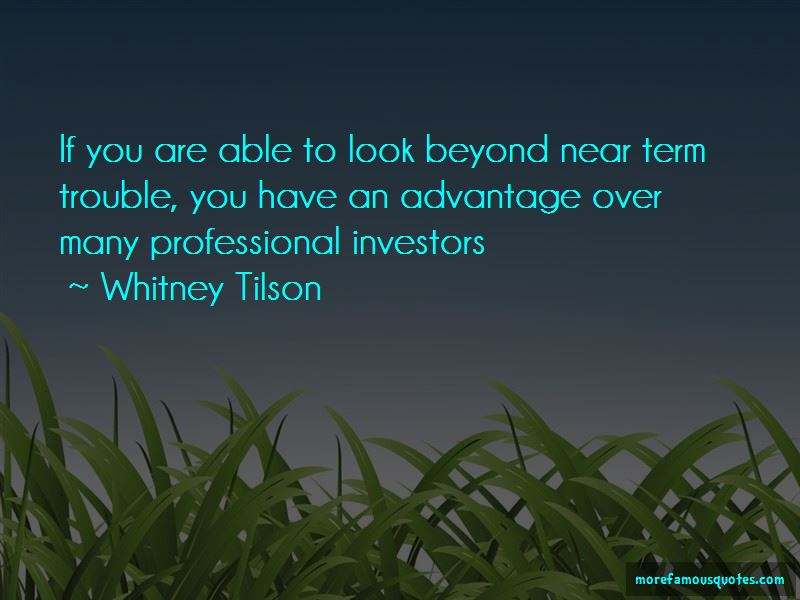 Whitney Tilson Quotes Pictures 4