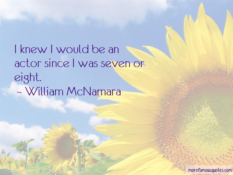 William McNamara Quotes Pictures 2
