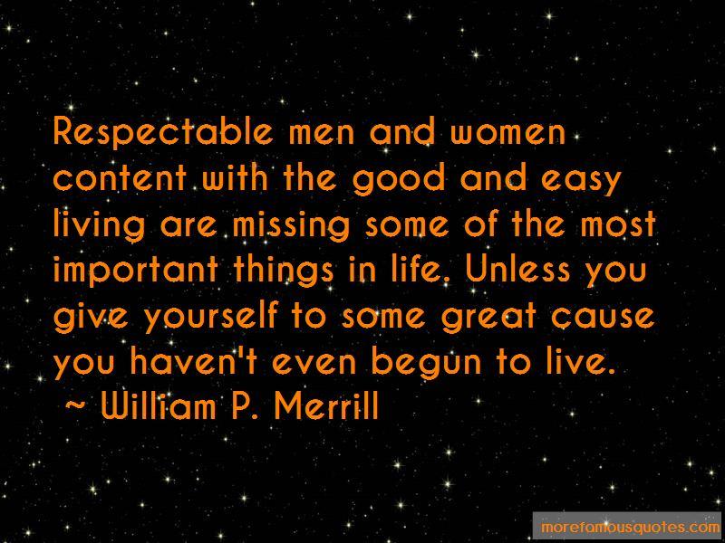 William P. Merrill Quotes