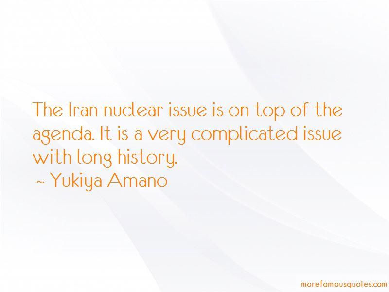 Yukiya Amano Quotes Pictures 2